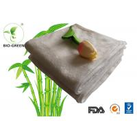 Customized Softness Bamboo Dry Wipes , Square Bamboo Antibacterial Baby Wipes Manufactures