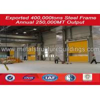 ISO certification custom prefabricated warehouse buildings steel frame Manufactures