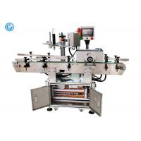 round square pet pve glass plastic bottle sticker labeling machine With Code Printer Manufactures