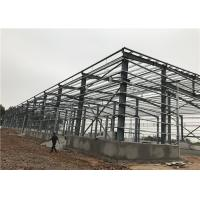 Economic H Section Prefab Metal Buildings Sheet Steel Frame Warehouse Manufactures