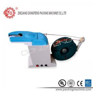 Snacks Bread Food Bag Twist Tie Machine Diameter ≤ 10mm Electric Driven Manufactures