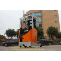 Compact Diesel Forklift Truck Seated Operation Electric Reach Truck Forklift Manufactures