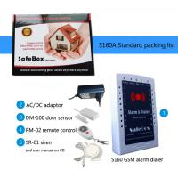 Ulter low cost GSM Wired/Wireless home alarm system S160 16 Wireless Zones 1 wired zones Andirod APP Manufactures
