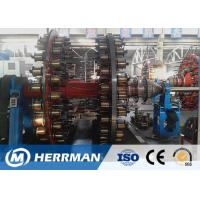 China High Pressure Hose Pipe Machine 0.6-2.2mm Steel Wire Armouring Machine Low Noise on sale