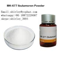 99% Purity MK-677 Sarms Raw Powder White Color Pharmaceutical Grade Manufactures