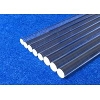 China Clear Fused Quartz Glass Rod , Custom Made High Purity Silica Rod on sale