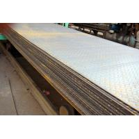 Cheap SS400, Q235B, S235JR Hot Rolled Steel Coils / Checkered Steel Plate, 2000mm -12000mm Long for sale