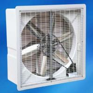 big wall mounted handmade shell FRP exhaust fan