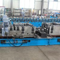Punching Press Cable Tray Roll Forming Machine , Cable Rolling Machine 11 Rolls
