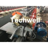 Custom made Octagonal Aluminum Or Galvanized Steel Tubing Roll Forming Machine With PLC Frequency Control Manufactures