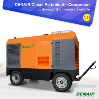 Buy cheap Industrial Diesel Engine portable Screw Air Compressor Tractor Supply from wholesalers