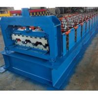 15KW Floor Deck Roll Forming Machine For Metal Structural Building Construction Manufactures