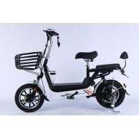 14 Inch Folding Electric Bike With Hidden Lead Acid Battery And Front Disc Manufactures