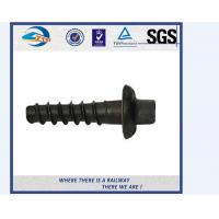Cheap 5.6 Grade Carbon Steel Q235 Railway Sleeper Screws Spike HRC22 - HRC32 for sale