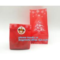 Halloween cartoon candy cookie plastic gift packaging bag,Food Container Pouch