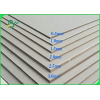 High Stiffness Grey Board 0.5mm - 1.5mm A4 Size For Packaging Boxes Manufactures