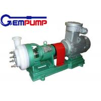 Rolling bearings Chemical resistant pump  single-stage single-suction corrosion pump Manufactures