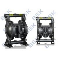 Food Industry Air Driven Double Diaphragm Pump Convenient Installation
