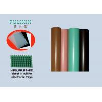 Conductive Polypropylene Plastic Sheet in Roll at 1.5mm , Heat Resistant Manufactures