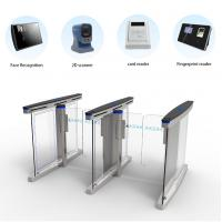 304 Stainless Steel Access Control Turnstile Gate High Speed Pedestrian Access Manufactures
