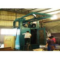 Q376 Spinner Hanger Shot Blasting Machines , Hydraulic Truck Hook Type Shot Blasting Machine Manufactures