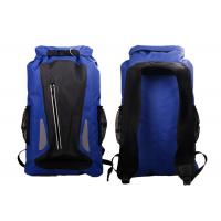 Outdoor Sports Dry Pack Rucksack ,  Dark Blue Floating Dry Bag Lightweight Manufactures
