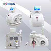 Handpiece Permanent Diode Laser Hair Removal Machine 808nm 600w In Pure White Manufactures