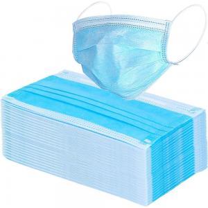 Anti Virus Disposable Face Mask / Protective Face Masks Fiberglass Free Manufactures