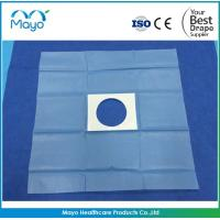 China CE Approved Disposable Surgical Medical Incise Drape Fenestrated Drape with hole on sale