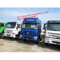 Diamond Blue Euro III 371hp 6x4 Tractor Truck With Wind Deflector Manufactures