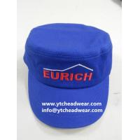Buy cheap Supply flat military hats, army caps for workers, team, classes from wholesalers