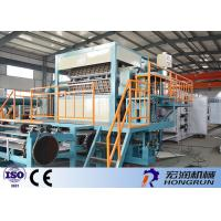 OEM / ODM Apple Tray Making Machine 4000pcs / h Automatic Egg Tray Machine Easy Operation Manufactures