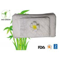 Eco Friendly Bamboo Disposable Nappy Liners , Soft Biodegradable Bamboo Fleece Inserts Manufactures