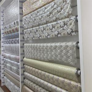 137cm X 20m Pvc Vinyl Lace Tablecloth As Lace Table Covers Pink Color Manufactures