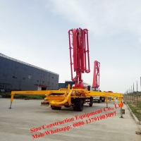336hp Concrete Handling Equipment 39m Pump Truck Manufactures