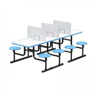 PE PVC OEM Transparent Acrylic 610mm Desk Divider Panels Manufactures