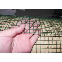 Dark Green  Welded Wire Mesh Electro Galvanized Steel Grid Surface Passivation Construction Manufactures