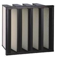 Buy cheap V-Bank HEPA Filter with Plastic Frame from wholesalers