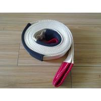 Nylon Heavy Duty Tow Straps MBS 9000 KG 75mm Orange Color With Eyes Manufactures