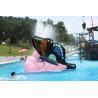 Butterfly Fiberglass Small  Kids Water Pool Slides, Indoor Playground Equipment