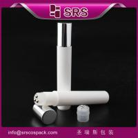 China SRS new product 2015 wholesale 15ml roll on plastic bottle with three ball for eye massage on sale