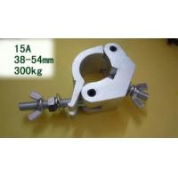 Double bracelet Aluminium alloy Silver Stage Light Clamps, truss accessories 38 - 54mm Manufactures