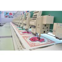 Auto Chenille And Flat Computerized industrial Embroidery Machine for Sock / Towel Manufactures