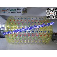 Grass / Ground  Inflatable Ball To Roll In , Human Rolling Ball Manufactures