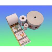 China Thermal paper roll back print on sale