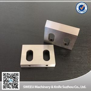 High hardness SKD11 steel granulator plastic crusher blades Manufactures