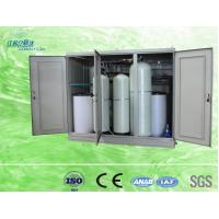 Compact 100l Cabinet Water Softener Resin Replacement Water Treatment Process Manufactures