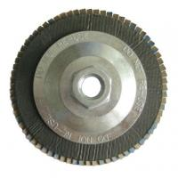 Quality 100*16 115*22 125*22 150*22 180*22 MM aluminium oxide flap disc with T27/T29 for sale