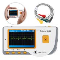 CE&FDA LCD Handheld ECG/EKG Monitor Electrocardiogram+Lead Cable+Electrodes PC180 Manufactures