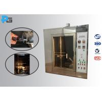 Durable Needle Flame Test Apparatus ISO17025 Authorized Third - Lab Calibration Certificated Manufactures